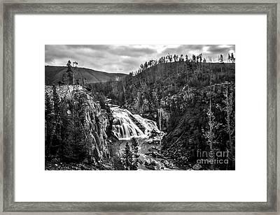 Gibbon Falls Framed Print by Robert Bales