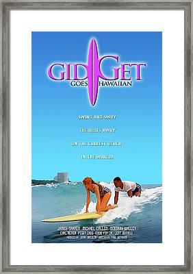 Gidget Goes Hawaiian Framed Print