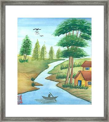Gift Of Nature Framed Print by Tanmay Singh