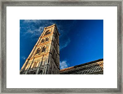 Giotto Framed Print by Emilio Lovisa