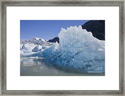 Glacial Ice Framed Print by John Hyde - Printscapes