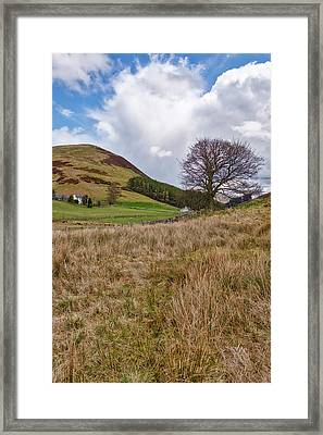 Framed Print featuring the photograph Glendevon In Central Scotland by Jeremy Lavender Photography