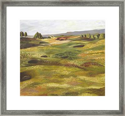 Gleneagles Queens Course Framed Print