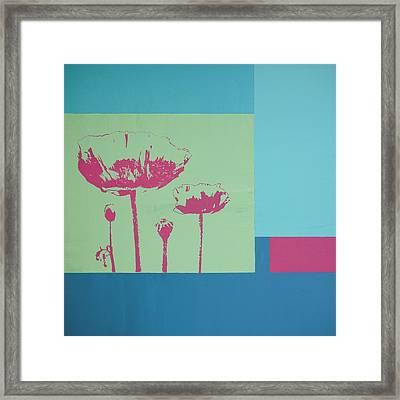 Glimpse Of Nature Framed Print
