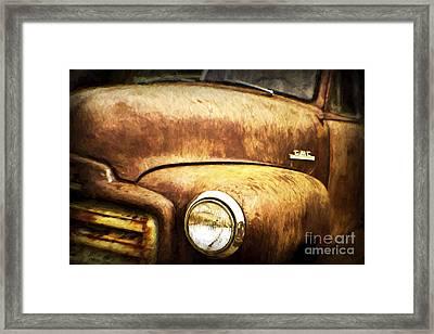 GMC Framed Print by Scott Pellegrin