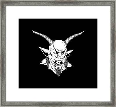Goatlord Framed Print