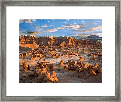 Goblin Valley State Park Utah Framed Print