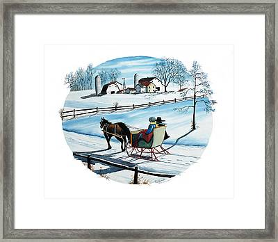 Going Home Framed Print by Raymond Edmonds