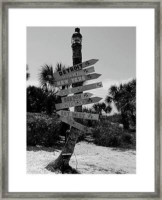 Going My Way Framed Print