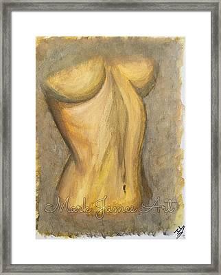 Gold Lust Framed Print by Mark James