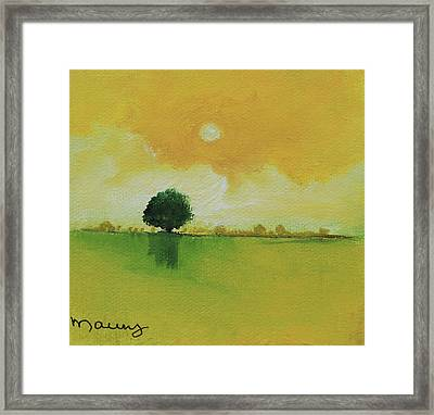 Golden Day Framed Print