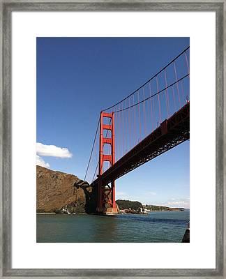 Golden Gate Bridge Framed Print by Eliot Jenkins