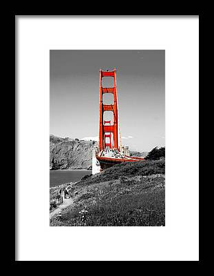 Golden Gate Framed Prints