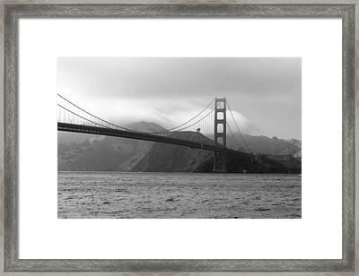 Golden Gate Framed Print by Ofelia  Arreola