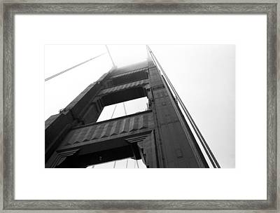 Golden Gate Tower 2 Framed Print