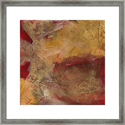 Golden Ruby Framed Print