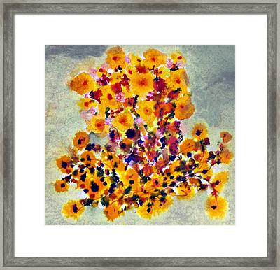 Goldenrod Framed Print