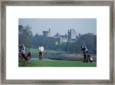 Golf At Dromoland Castle Framed Print