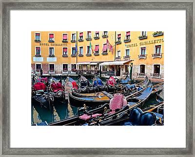Gondola Central Framed Print