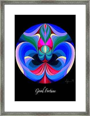 Good Fortune Framed Print