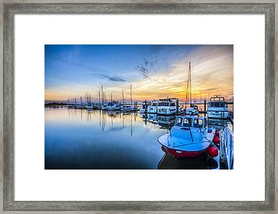 Good Times Framed Print by Debra and Dave Vanderlaan