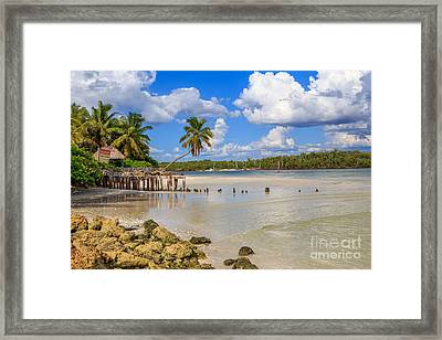 Gordon Pass Naples Florida Framed Print