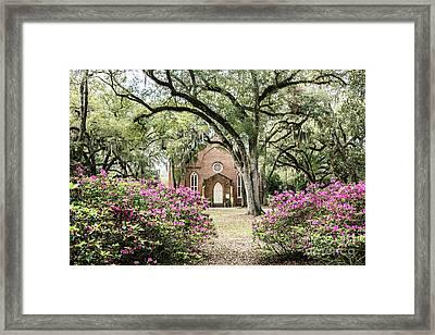 Grace Episcopal Church Framed Print by Scott Pellegrin