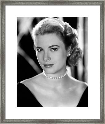 Grace Kelly, 1953 Framed Print by Everett
