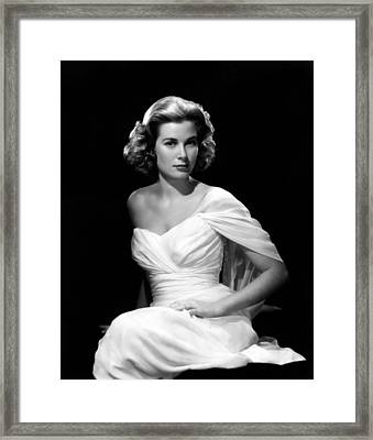 Grace Kelly, 1954 Framed Print