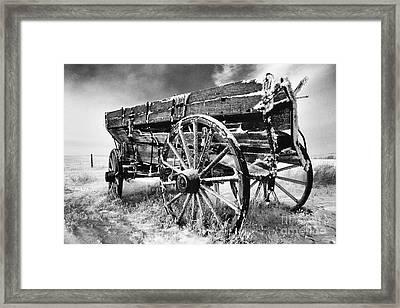 Grain Wagon Framed Print by Bob Christopher