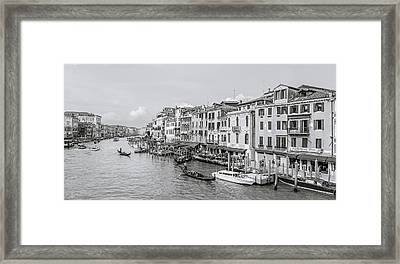Grand Canal Framed Print by Gary Finnigan