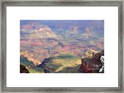 Grand Canyon 2 Framed Print by Debby Pueschel