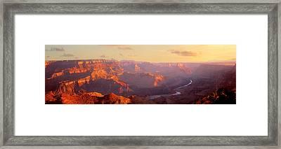 Grand Canyon, Arizona, Usa Framed Print by Panoramic Images