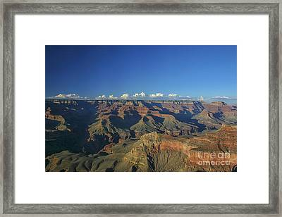 Grand Canyon At Sunset Framed Print by Patricia Hofmeester