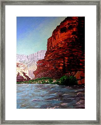 Grand Canyon II Framed Print by Stan Hamilton