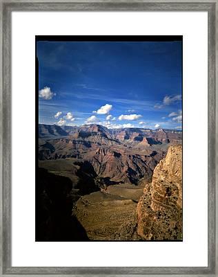 Grand Canyon Framed Print by Luca Baldassari