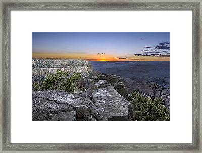Grand Canyon Sunset Framed Print