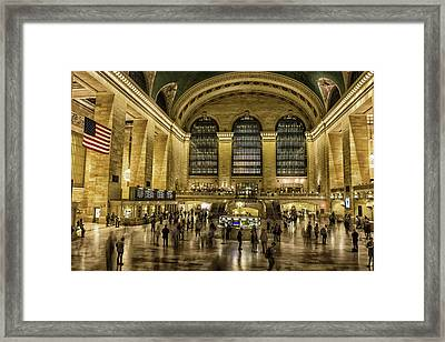 Grand Central Station Framed Print by Martin Newman