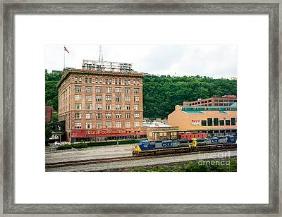 Grand Concourse Station Square Pittsburgh Pennsylvania Framed Print by Amy Cicconi