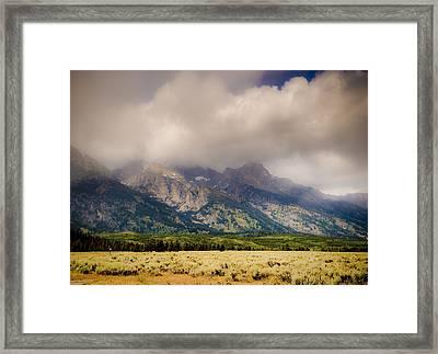 Grand Tetons Framed Print by Patrick  Flynn