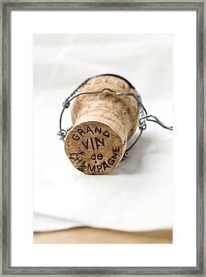 Grand Vin De Champagne Framed Print