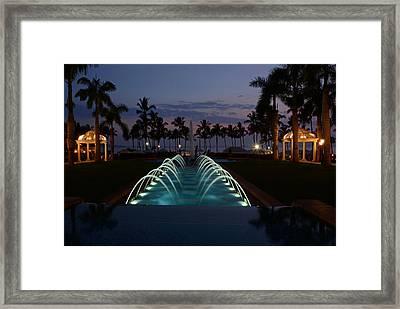 Grand Wailea Resort Framed Print
