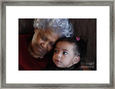 Grandma Framed Print by Jim Wright