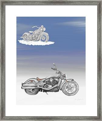 Grandson Framed Print by Terry Frederick