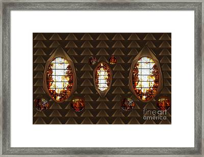 Graphic Art From Photo Library Of Photographic Collection Of Christian Churches Temples Of Place Of  Framed Print