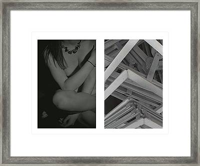 Grasp Framed Print by Steven W Rand