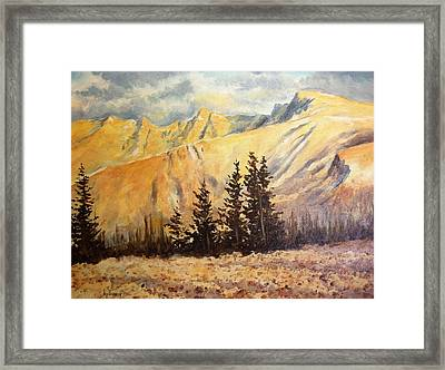 Great Basin National Park Nevada Framed Print by Kevin Heaney