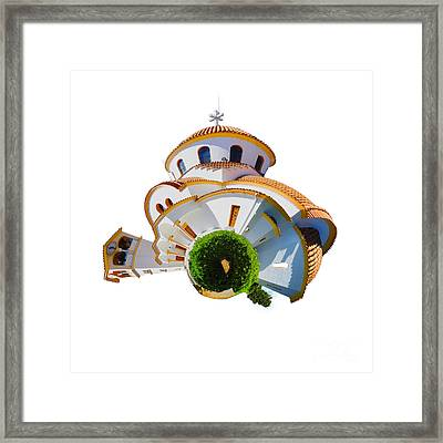 Greek Orthodox Church Framed Print