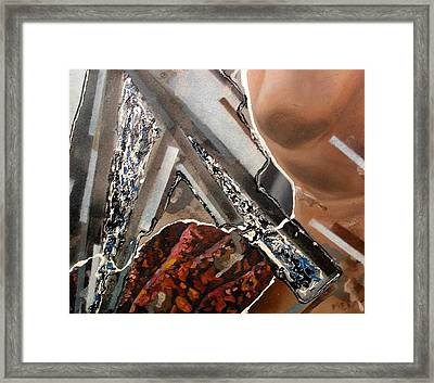 Grey Day Framed Print by Evguenia Men