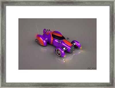 Grobo Car Framed Print